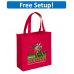 Abe Non-Woven Tote Bag Bag with Full Color Imprint
