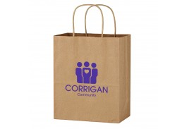 "13"" x 17"" Kraft Paper Brown Wine Bag"