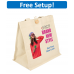 Aurora Cotton Tote Bag with Full Color Imprint