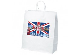 Citation White Craft Bag with Full Color Imprint